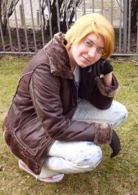 Cosplay-Cover: Alfred F. Jones [Casual]