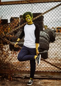 Cosplay-Cover: Beast Boy by Picolo