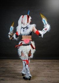 Cosplay-Cover: Monster Hunter-Kirin Beta Armor