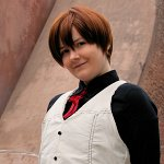 Cosplay-Cover: Haruhi Fujioka [Waiter Dress]