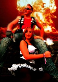 Cosplay-Cover: Duke Nukem - aus Duke Nukem Forever