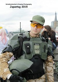Cosplay-Cover: UNSC Marine