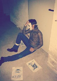 Cosplay-Cover: Tim/Masky (Marble Hornets)