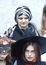 Cosplay-Cover: Schwarze Katze