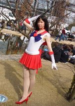 Cosplay-Cover: Sailor Mars - Alt