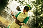 Cosplay-Cover: Toph Bei Fong (Book II)