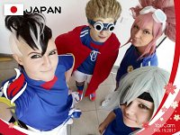 Cosplay-Cover: Fudou Akio (Inazuma Japan)
