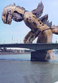 Cosplay-Cover: Godzilla (1998)