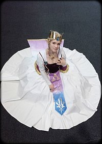 Cosplay-Cover: Königin Zelda