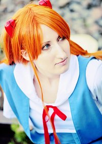 Cosplay-Cover: Soryu Asuka Langley - Schuluniform