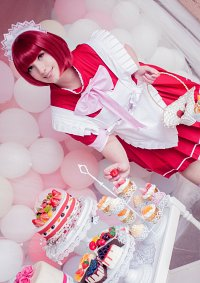 Cosplay-Cover: Ichigo Momomiya (Cafe Dress)