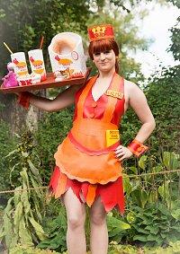 Cosplay-Cover: Wilma Slaghoople [Bronto King-Dress] Fam. Feuerste
