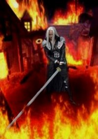 Cosplay-Cover: Sephiroth ff7