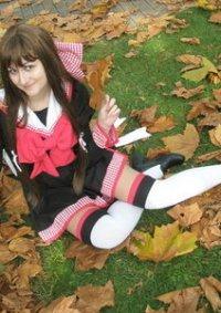 Cosplay-Cover: Shizuka Masuda (Schuluniform)
