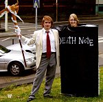 Cosplay-Cover: Death Note