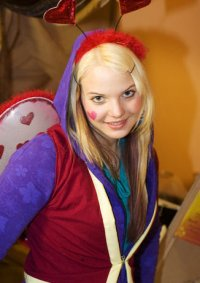 Cosplay-Cover: Liebes-Clown