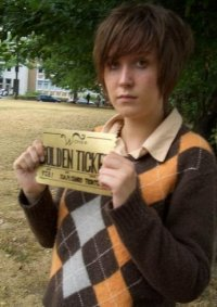 Cosplay-Cover: Charlie [Charlie and the Chocolate Factory]