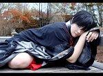 Cosplay-Cover: Izumi Takuto (Kimono)