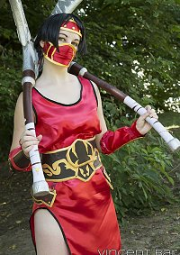 Cosplay-Cover: Akali [ Crimson ]