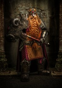 Cosplay-Cover: Magni Bronzebeard
