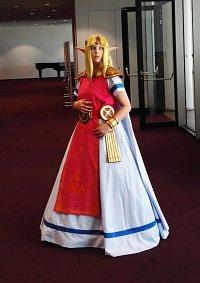 Cosplay-Cover: Zelda a link between Worlds