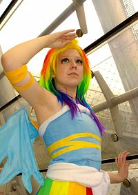 Cosplay-Cover: Gala Rainbow Dash