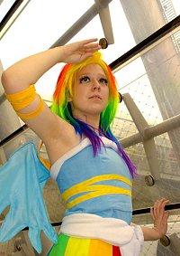 Cosplay-Cover: Gala Rainbow Dash