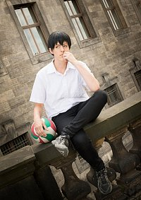 Cosplay-Cover: Tobio Kageyama ( Sommeruniform )