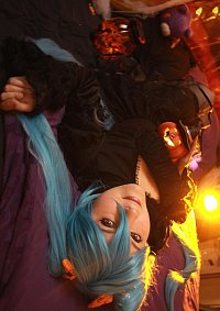 Cosplay-Cover: Hatsune Miku [Halloween Aoki Version]