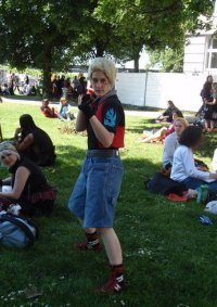 Cosplay-Cover: Zell Dincht