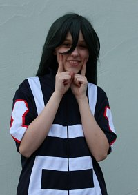 Cosplay-Cover: Tsuyu Asui - Sportanzug