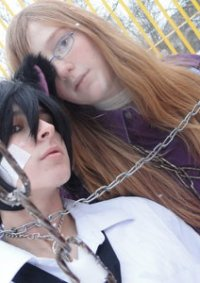Cosplay-Cover: Soubi [[Lila Bluse]]