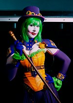 Cosplay-Cover: Duela Dent (Ame-Comi)