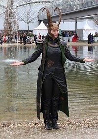 Cosplay-Cover: Loki (+Helm)