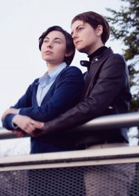 Cosplay-Cover: Charles Xavier (Cardigan)