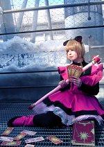 Cosplay-Cover: Sakura Kinomoto (pink cat dress)