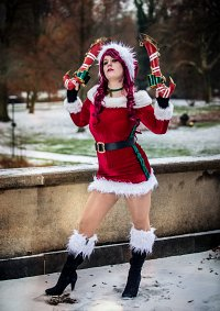 Cosplay-Cover: Candy Cane Miss Fortune
