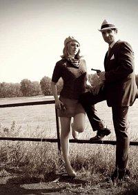 Cosplay-Cover: Bonnie Elizabeth Parker (Bonnie und Clyde)