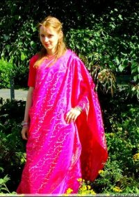 Cosplay-Cover: Pink Indian Girl