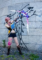 Cosplay-Cover: Serah Farron (Style and Steel)