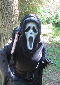 Cosplay-Cover: Ghostface
