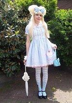 Cosplay-Cover: angelic pretty lolita blau
