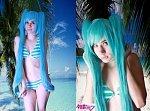Cosplay-Cover: Hatsune Miku [Bikini Version]