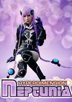 Cosplay-Cover: Hyperdimension Neptunia  Purple Heart (HDD Version