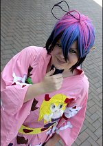 Cosplay-Cover: Mephisto Pheles (Honey Honey Sisters Yukata)
