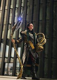 Cosplay-Cover: Loki ~Battle Armor~