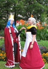 Cosplay-Cover: Queen Xemnas (alice in Wonderland Version)