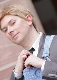 Cosplay-Cover: Barney Stinson [im Overall](How I met your mother)