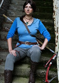 Cosplay-Cover: Lara Croft - Rise of the Tomb Raider