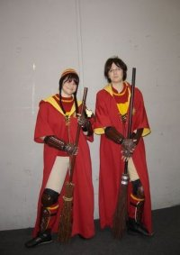 Cosplay-Cover: Ron im Quidditch-Dress